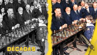 decadas_samuel_reshevsky_age_8_ajedrez_france_1920_byn