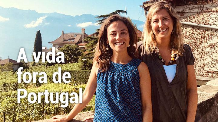 A vida fora de Portugal