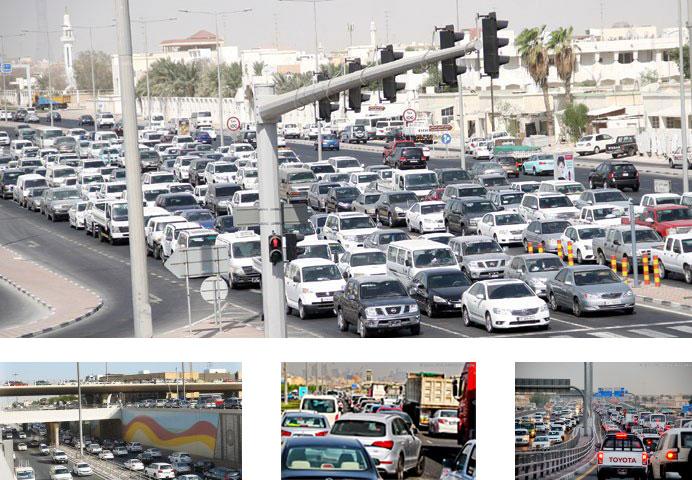 Trânsito em Doha