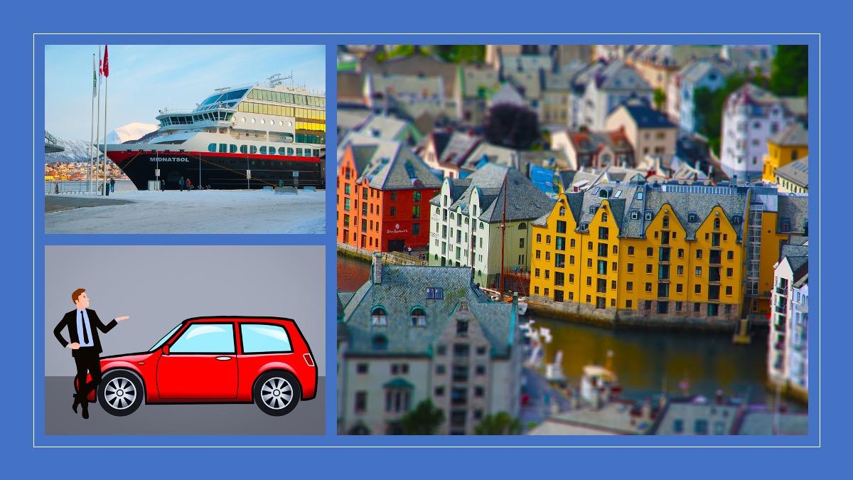 Casa e Carro na Noruega
