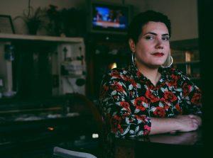 A selfie of the author, Raquel Salas Rivera, a nonbinary boricua.
