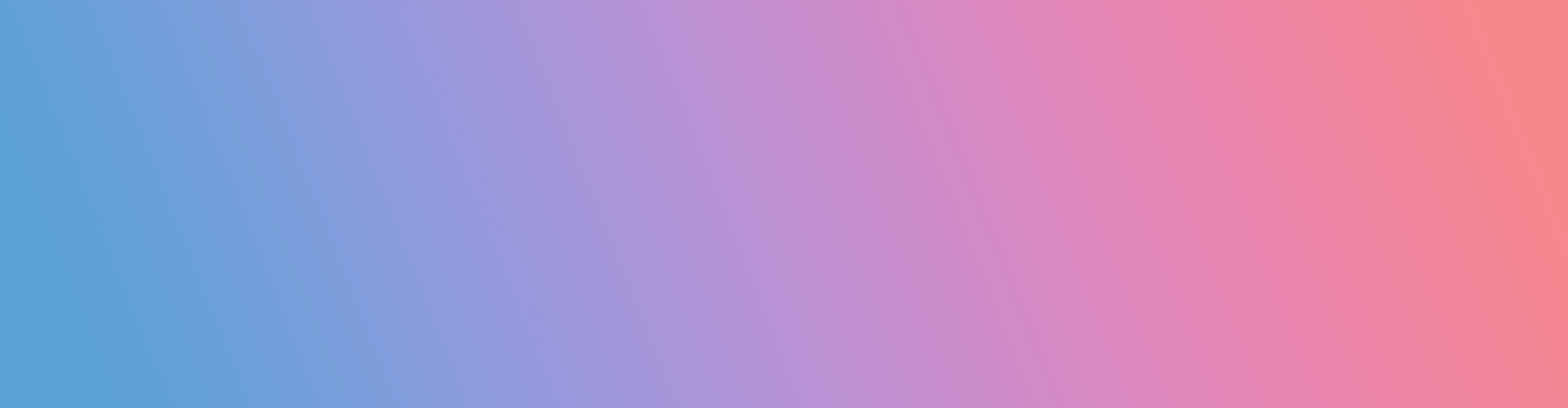 VIDA gradient blue to pink