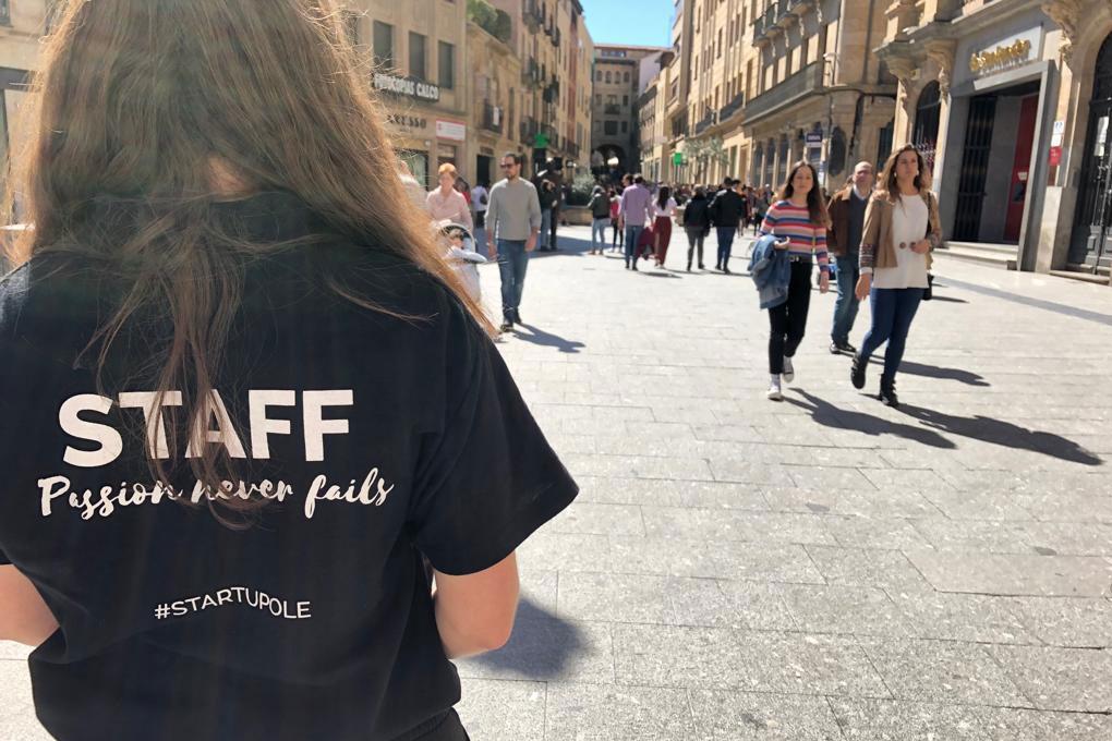 Startup Olé 2019 Salamanca voluntarios