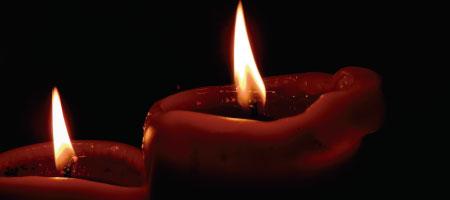 ¿Qué significan los colores de las velas?