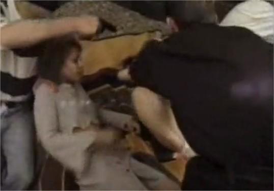 video x d une tournante de beurette en viol collectif