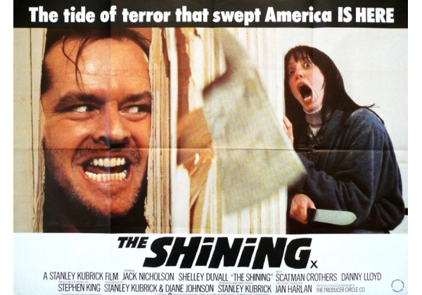 Shining, The (1980) on Warner Home Video (United Kingdom Betamax, VHS  videotape)