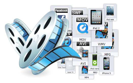 Convert video to Popular Videos, Audios and Portable Devices