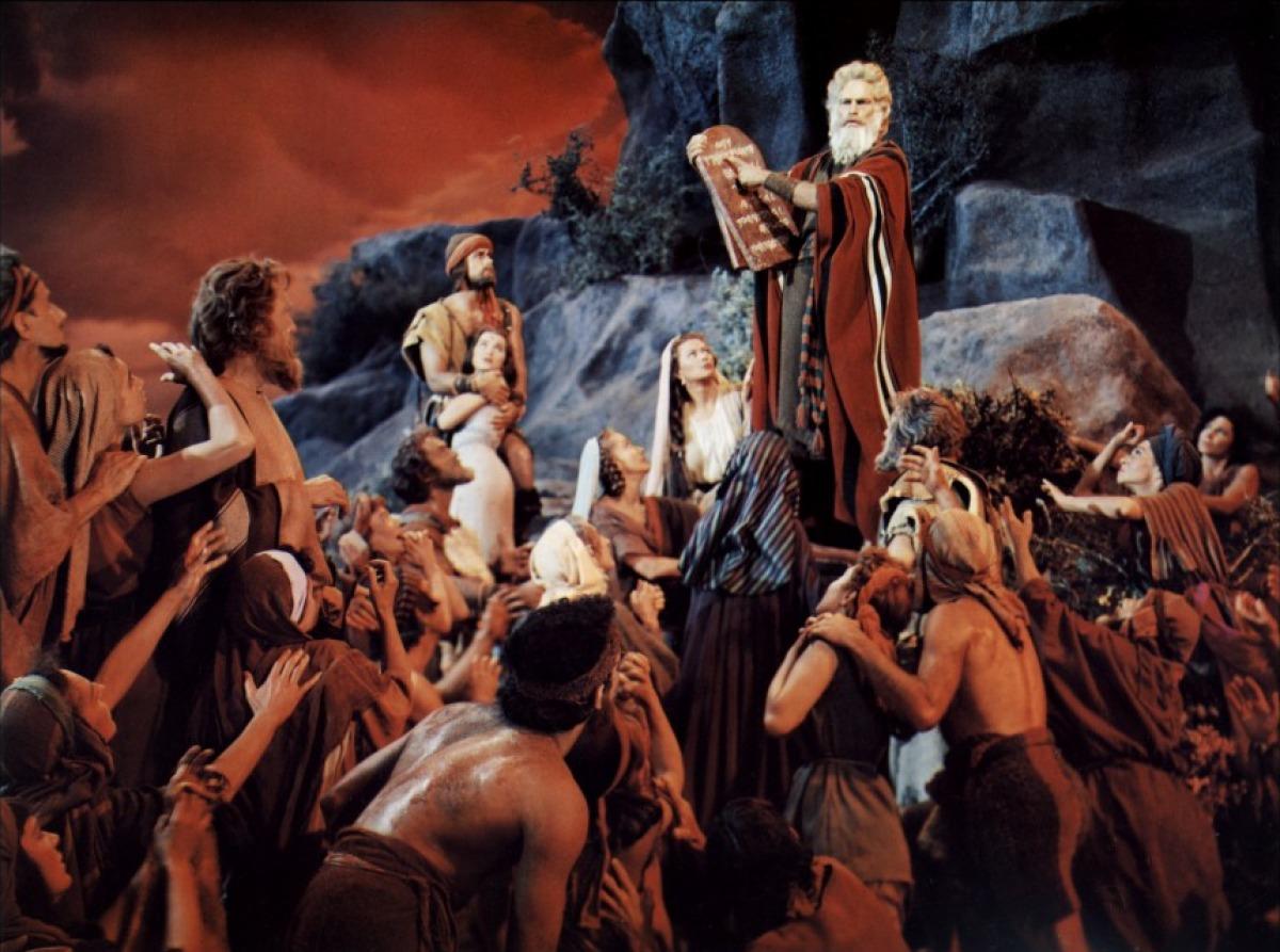 Les dix commandements – Cecil B. DeMille