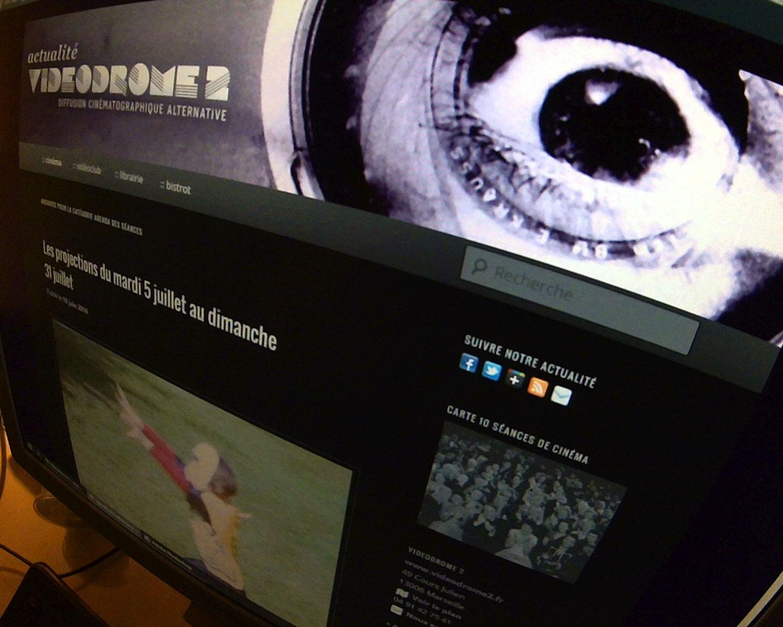 Ancien agenda des séances cinéma de Videodrome 2 à Marseille