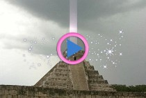 luce piramide maya