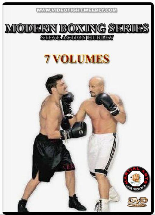 "Картинки по запросу ""Modern Boxing 7 DVDs by Steve Hurley"""