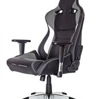 AKRacing Pro-X Luxury XL Gaming Chair with High Backrest, Recliner, Swivel, Tilt, Rocker and Seat Height Adjustment Mechanisms with 5/10 warranty Grey