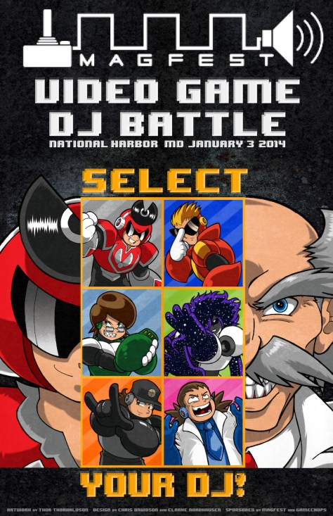 Video Game DJ Battle at MAGfest
