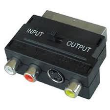 Composite to SCART adaptor