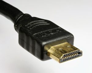 A typical HDMI cable.