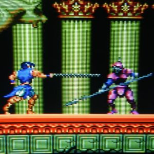 The image quality advantages of a CRT for retrogames are obvious