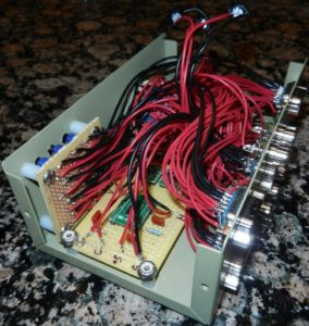 Inside one of the custom RGB switches