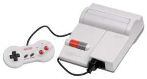 The redesigned top loading NES/Famicom.