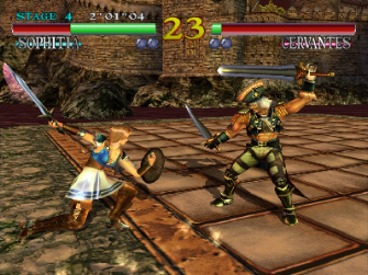 Soul Calibur 1 HD screenshot