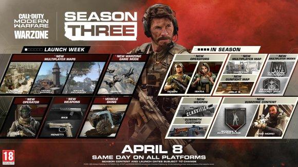 Call of Duty Warzone Season 3 trailer reveals new content | VGC