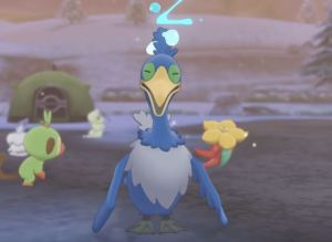 Pokémon Sword and Shield Cramorant bird