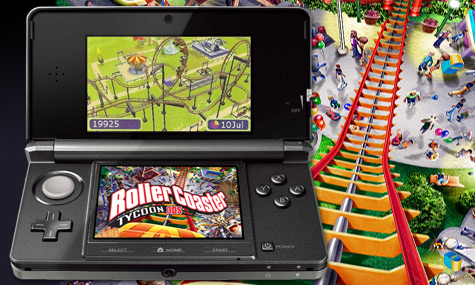 RollerCoaster Tycoon 3DS Test Tipps Videos News Release Termin Videogameszonede