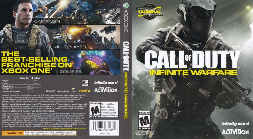 Call Of Duty Infinite Warfare Xbox One VideoGameX