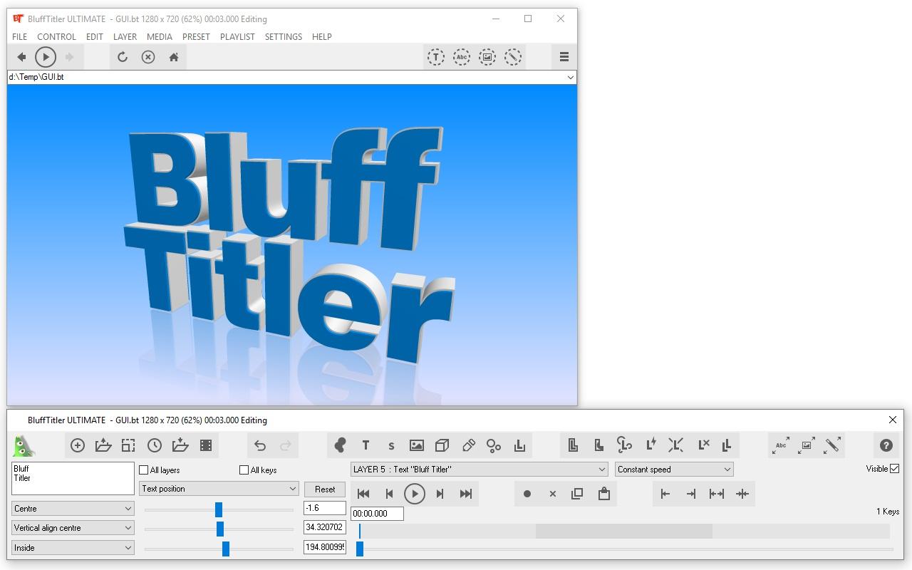 Resultado de imagen de BluffTitler Ultimate