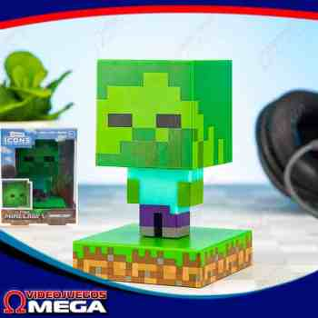 Lampara Zombie Minecraft