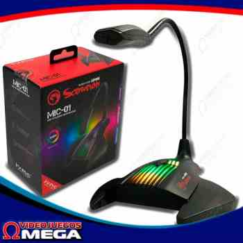 Microfono Gaming Scorpion MIC01