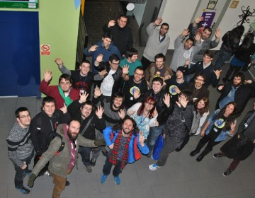 Los creadores de videojuegos de la Global Game Jam en Gipuzkoa