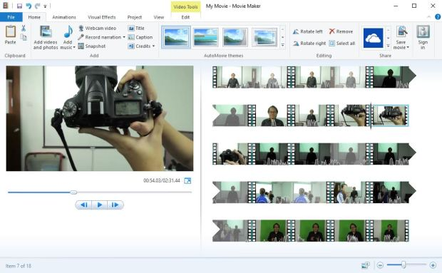windows movie maker windows 8.1 x64