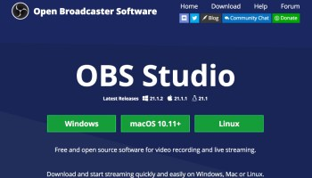 16 Changes in OBS Studio 20 1 0 (mac) Software Update