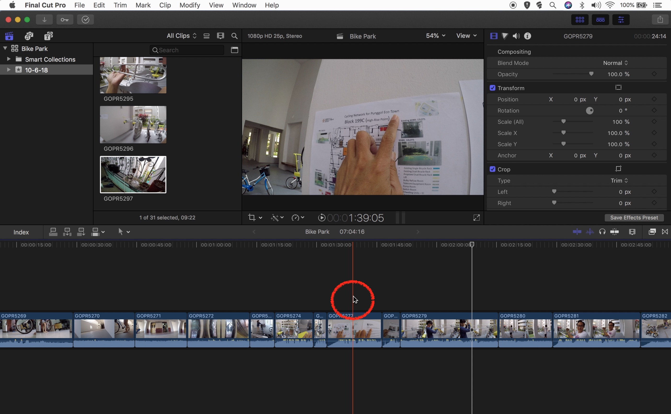 Skim over the Timeline to Watch | Final Cut Pro X 2018 Tutorial