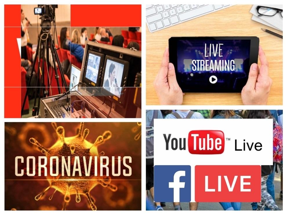 Streaming video per eventi a distanza