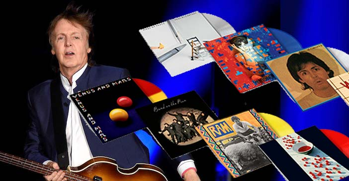 Paul Mccartney Archive Collection Eight Lp Out Today