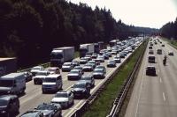 Videonauts Tegernsee Biketour Autobahn Stau