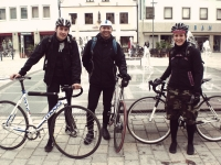 Videonauts Biketour auf ein Schweinbraten Pfaffenhofen - die Crew