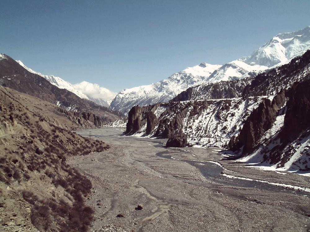 Videonauts Nepal Annapurna Runde 2004 Kali Gandaki backpacking trekking