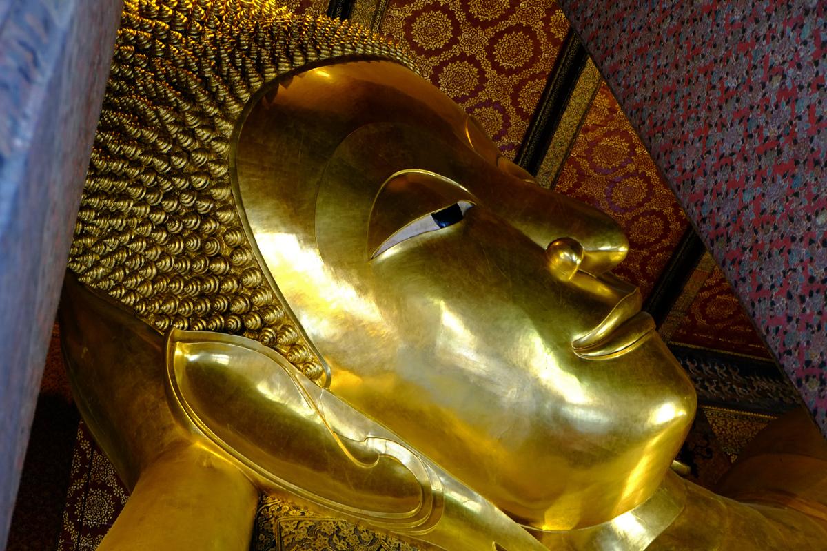 Videonauts Bangkok Sabbatical - liegender Buddha Tempel