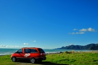 Videonauts Neuseeland Campervan Spaceship backpacking