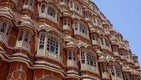 Videonauts Indien Business Trip Hawa Mahal Jaipur