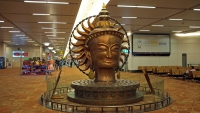 Videonauts Indien Business Trip New Delhi Airport