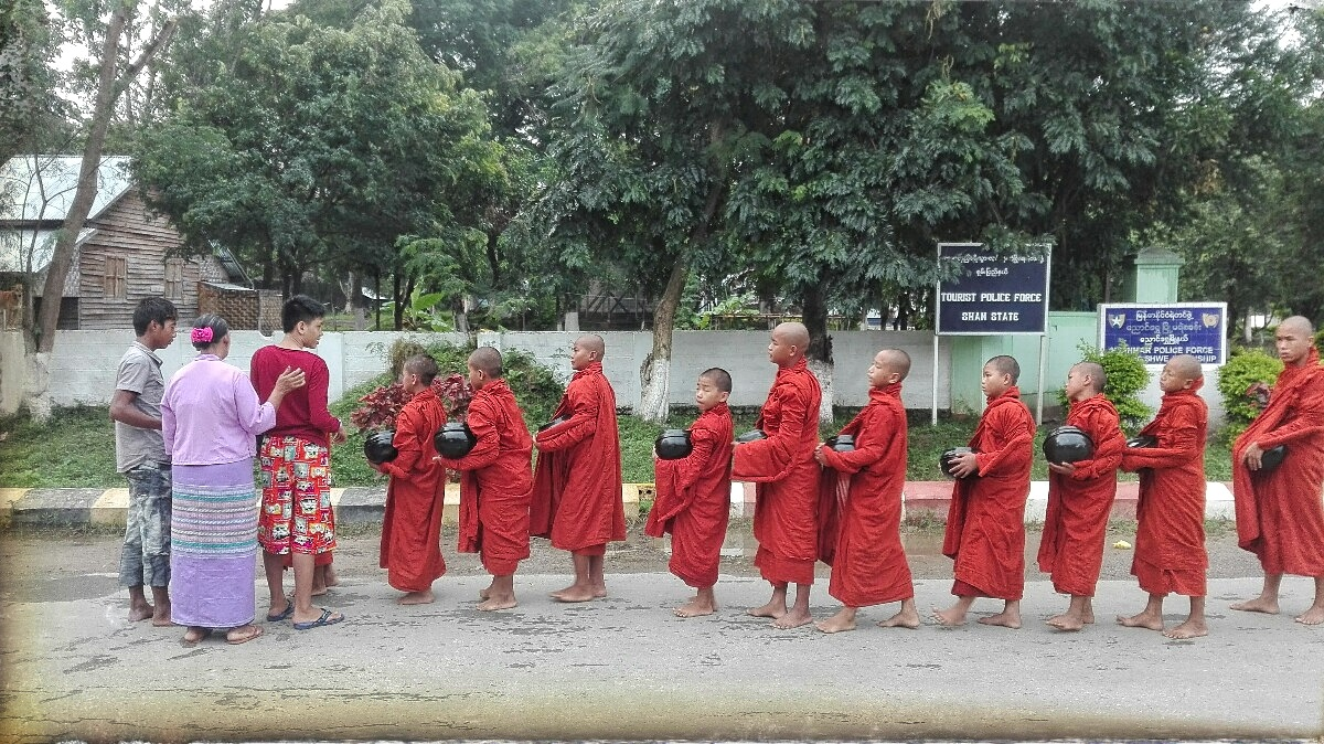 Videonauts Sabbatical Burma monks