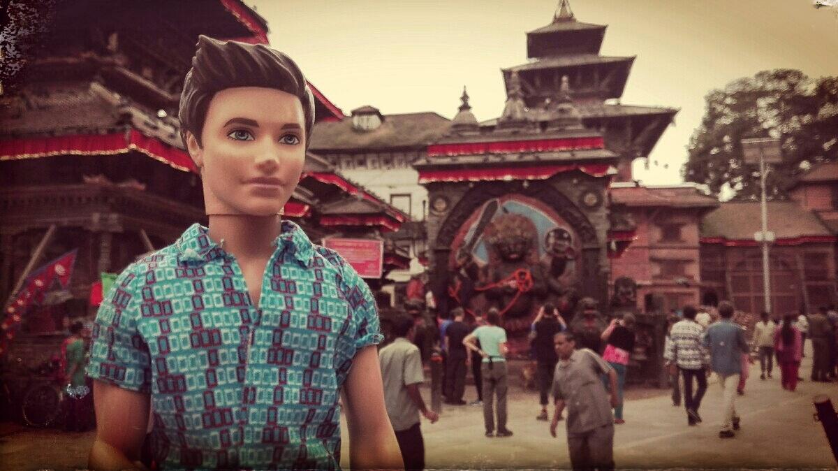 Videonauts backpacking Nepal Kathmandu Durbar Square