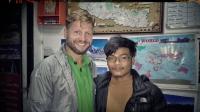 Videonauts backpacking Nepal Kathmandu Guide for Manaslu