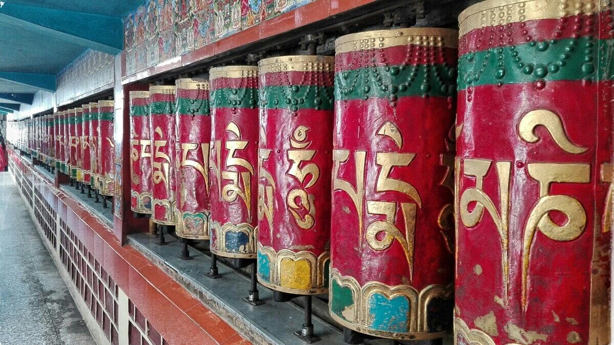 Videonauts backpacking Indien Dharamsala McLeod Ganj Tempel