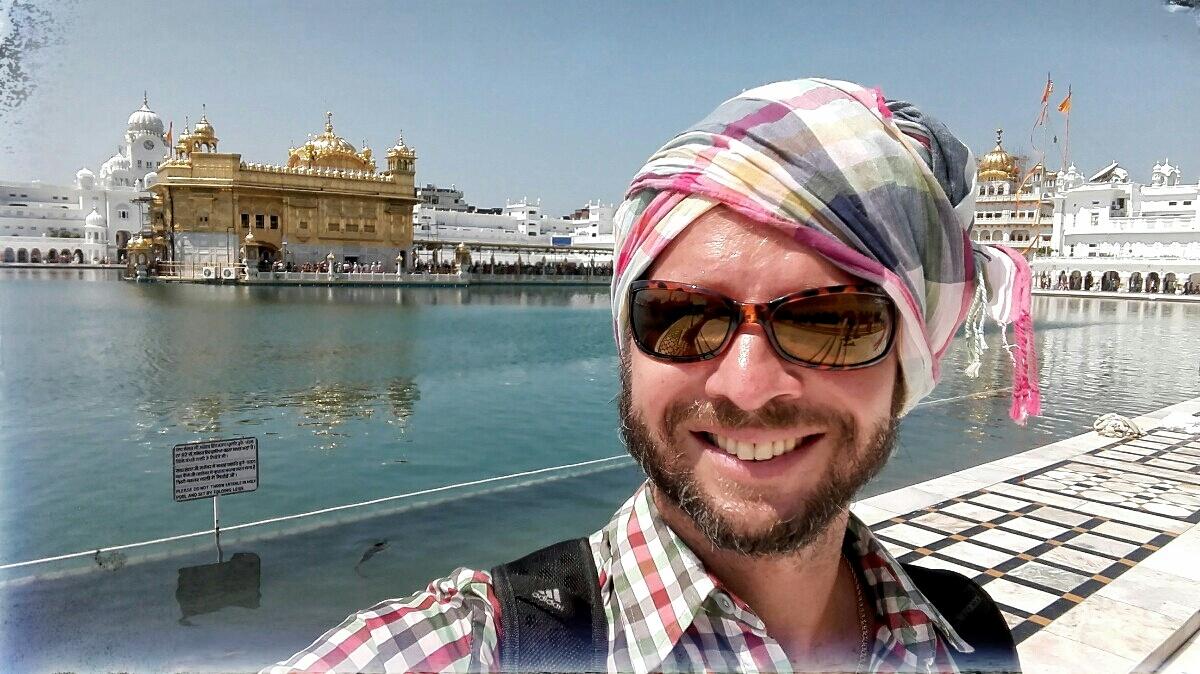 Videonauts backpacking Indien Punjab Amritsar Goldener Tempel