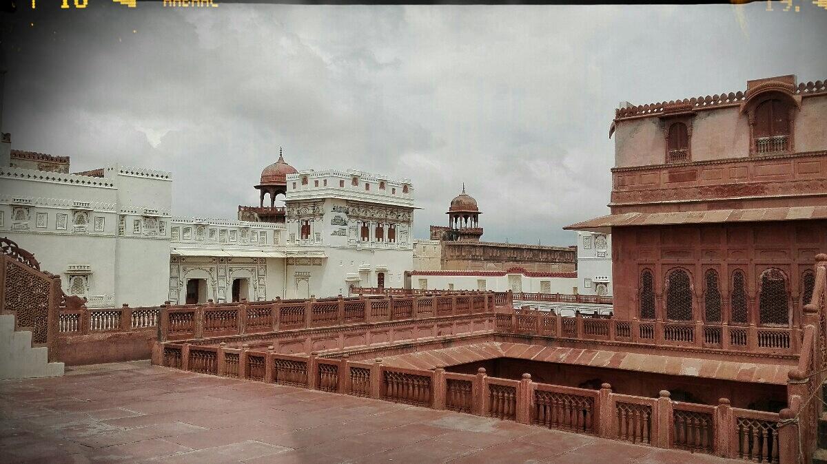 Videonauts backpacking Indien Rajasthan Bikaner Fort