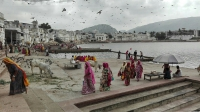 Videonauts backpacking Indien Pushkar Ghats 2